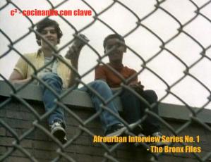 Afrourban Interview Series No. 1 – The Bronx Files